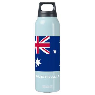 Australia flag liberty bottle