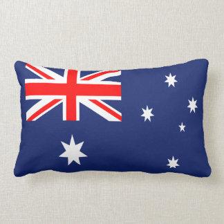Australia flag lumbar pillow