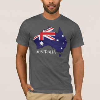 Australia Flag-Map Shirt