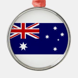 Australia flag metal ornament