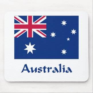 Australia Flag Mouse Pad