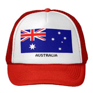 Australia: Flag of Australia Trucker Hat
