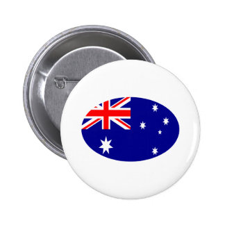 Australia Flag Oval The MUSEUM Zazzle Gifts Button