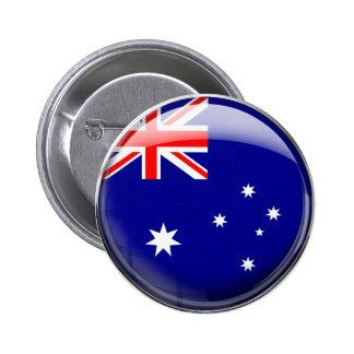 Australia Flag Pinback Button