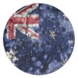 AUSTRALIA FLAG PLATO DE CENA