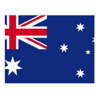 Australia Flag Poscard Postcard