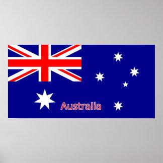 Australia Flag Print