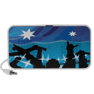australia flag speaker