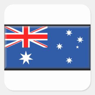 Australia Flag Square Sticker