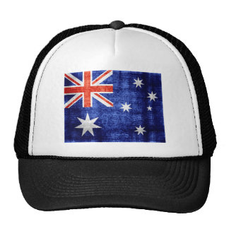 Australia Flag Vintage Trucker Hat