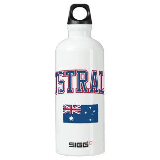 Australia + Flag Water Bottle