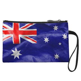 Australia Flag Wristlet