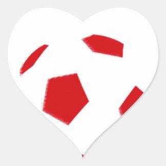 Australia Football 5729 Heart Sticker