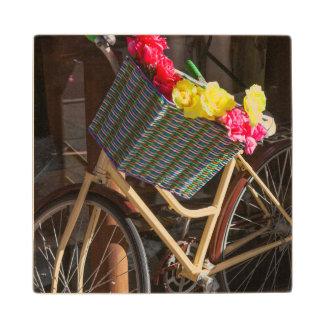 Australia, Freemantle, calle principal, bicicleta Posavasos De Arce