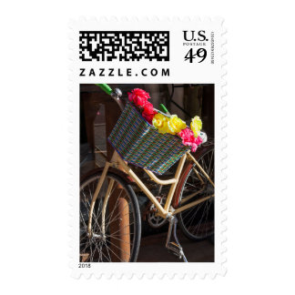 Australia, Freemantle, calle principal, bicicleta Timbres Postales
