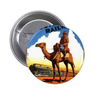 Australia Gifts Pinback Button