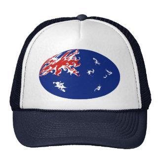 Australia Gnarly Flag Hat