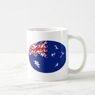 Australia Gnarly Flag Mug