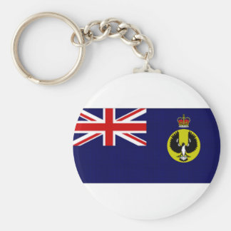 Australia Governor South Australia Flag Keychain