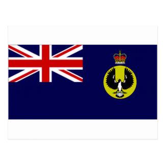 Australia Governor South Australia Flag Postcard