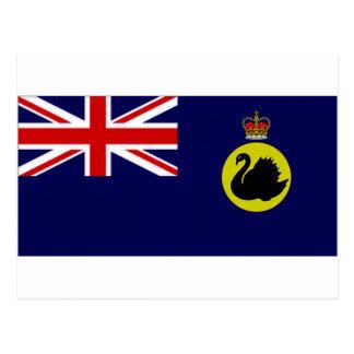 Australia Governor Western Australia Flag Postcard
