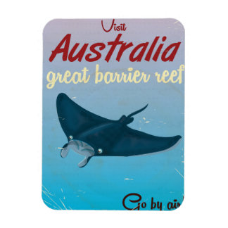 Australia Great barrier reef Magnet
