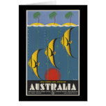 Australia Great Barrier Reef Queensland Greeting Card