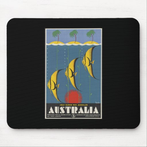 Australia Great Barrier Reef Queensland Mouse Pad