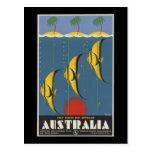 Australia Great Barrier Reef Queensland Post Card