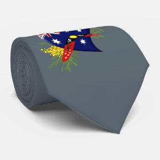 Australia Heart with Boomerang Neck Tie