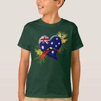 Australia Heart with Boomerang T-Shirt