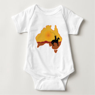 Australia Horseman Baby Bodysuit