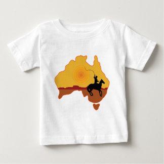 Australia Horseman Baby T-Shirt