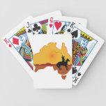 Australia Horseman Bicycle Playing Cards