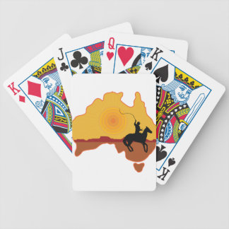 Australia Horseman Bicycle Playing Cards