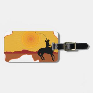 Australia Horseman Luggage Tags