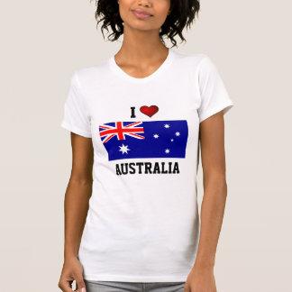 AUSTRALIA: I LOVE AUSTRALIA T-SHIRTS