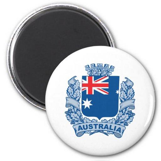 Australia Imán Redondo 5 Cm