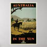 Australia ~ In The Sun Posters