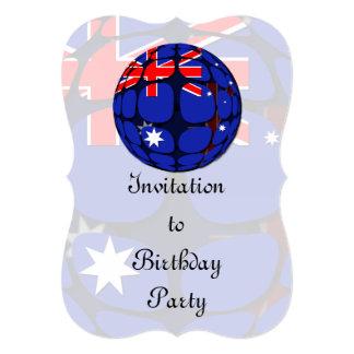 "Australia Invitación 5"" X 7"""