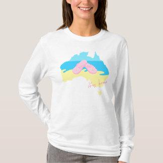 Australia - It's Home (female) T-Shirt