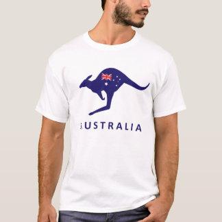 AUSTRALIA KANGAROO FLAG TSHIRT