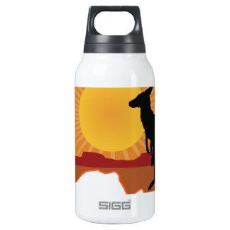 Australia Kangaroo Insulated Water Bottle