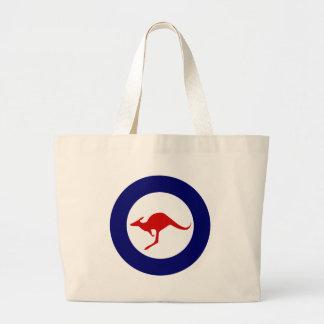 Australia kangaroo military aviation roundel bag