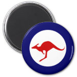 Australia kangaroo military aviation roundel fridge magnet