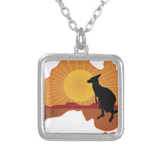 Australia Kangaroo Necklace