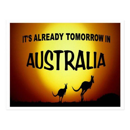 AUSTRALIA KANGAROOS.jpg Postal