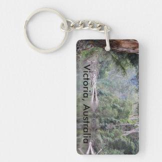 Australia Key Tag Single-Sided Rectangular Acrylic Keychain
