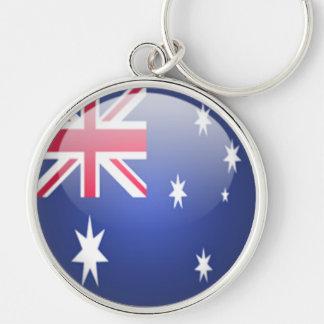 Australia - llavero redondo superior