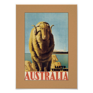 Australia - Lloyd Triestino (frontera) Posters